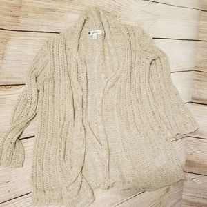 Valerie Bertinelli Beigh Sweater
